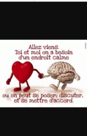 Le Coeur A Sa Raison Que La Raison Ignore : coeur, raison, ignore, Cerveau, Stories, Wattpad