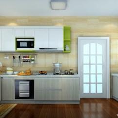 Delta Kitchen Sinks Island Wood 厨房整体橱柜效果图-维意定制家具商城