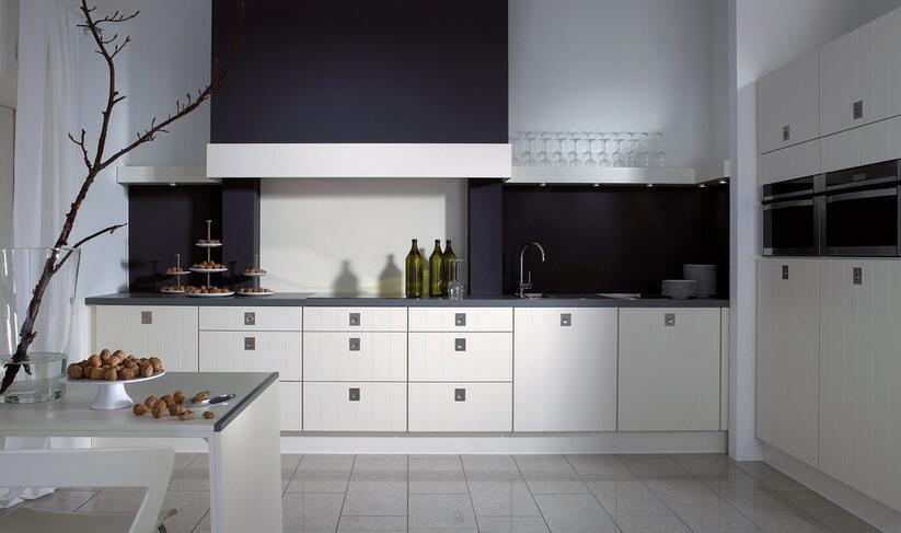 kitchen design template double glazed doors 厨房装修设计模板让你的厨房设计更显气派 维意定制家具商城