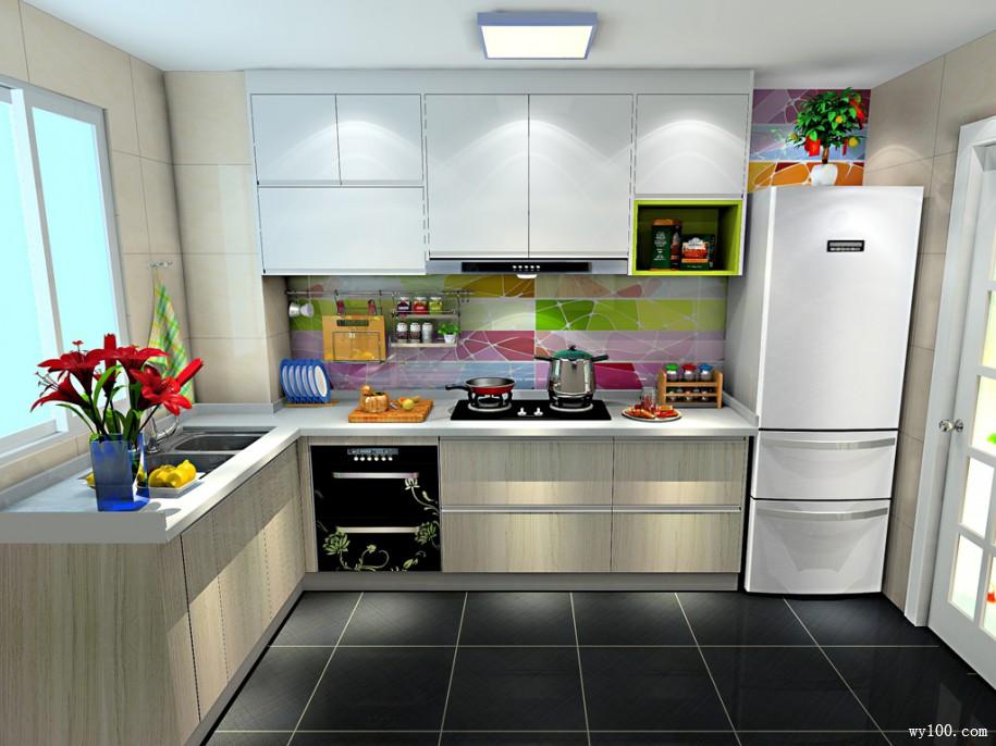 modern kitchen images door handles 现代厨房电器有哪些是必买的 维意定制家具商城