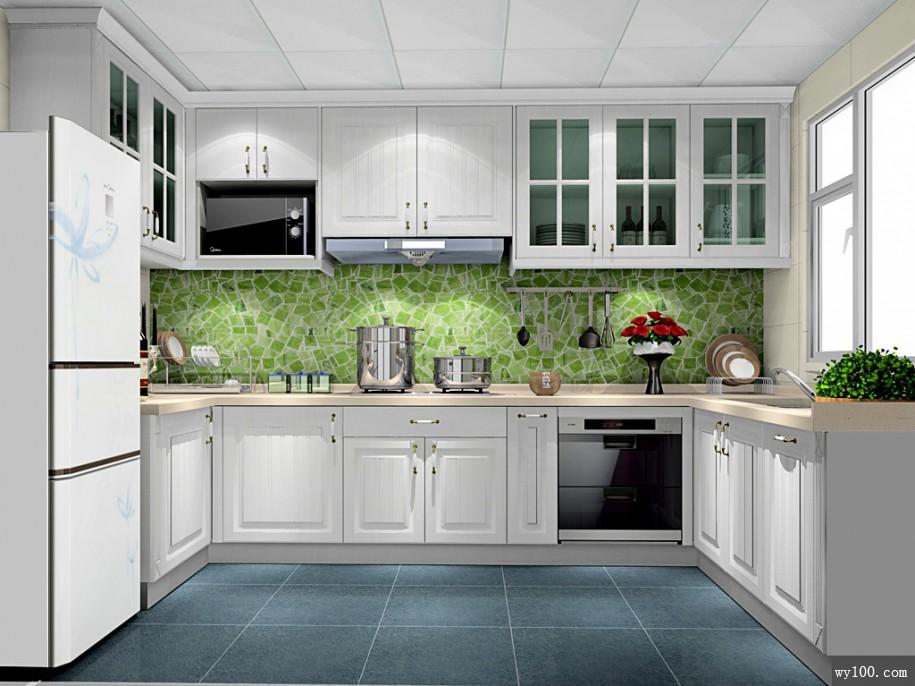 modern kitchen images corner cabinet 现代厨房设计注意事项有哪些 维意定制家具商城