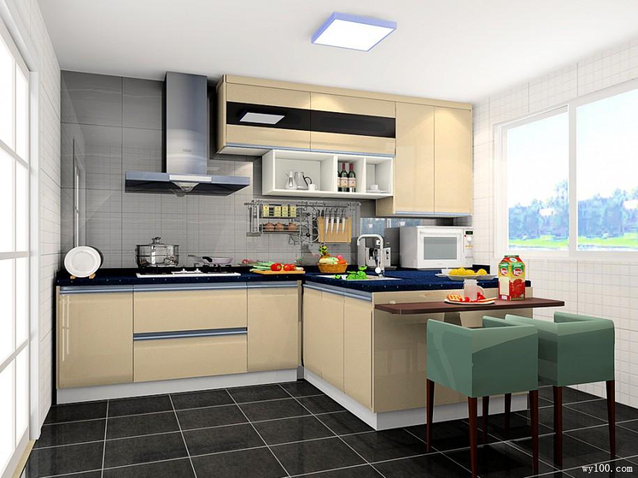 kitchen dining tables remodeling kitchens 关于小户型开放式厨房餐桌详解 维意定制家具商城