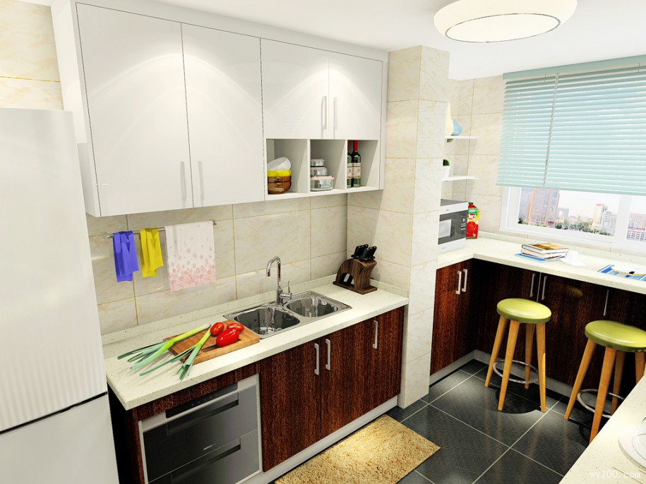 small kitchen table set ikea rack 关于小户型开放式厨房餐桌详解 维意定制家具商城