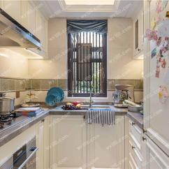Small Space Kitchen American Standard White Faucet 几个必知的小空间厨房装修技巧 维意定制家具商城
