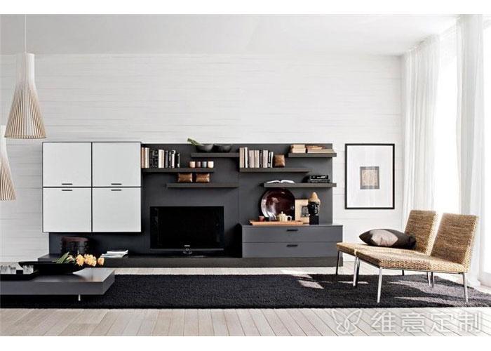 new kitchen cabinet doors white wall cabinets 客厅简易后现代电视柜 - 维意定制家具网上商城