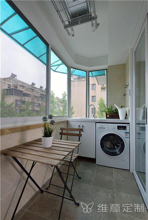kitchen cabinets modern where can i buy a table 小户型改造阳台改餐厅效果图- 维意定制家具网上商城