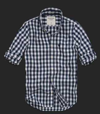 Camisas de verano para hombres de Abercrombie  Web de la Moda