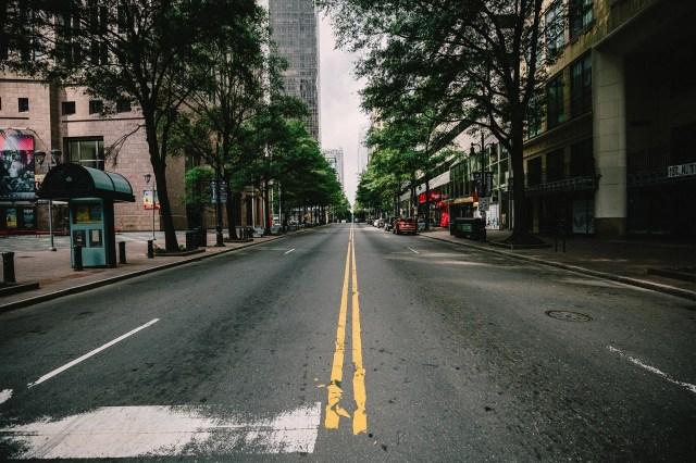 photo of empty street