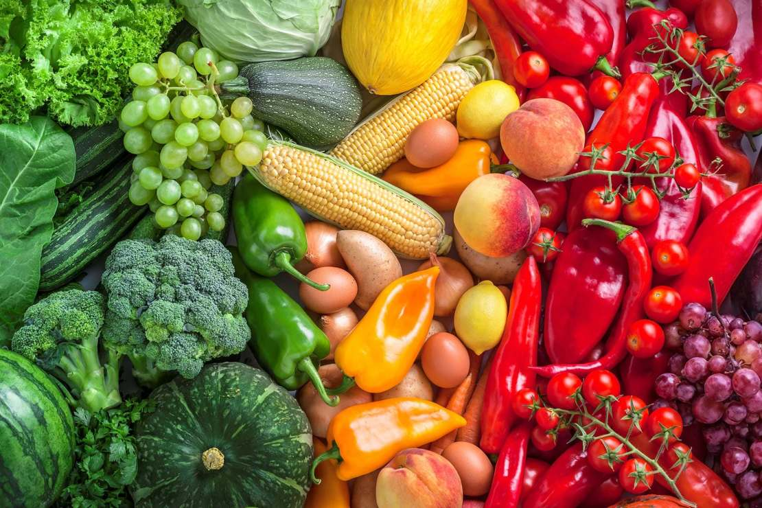 photo of fruits and vegetables assortment