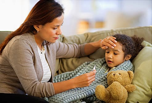 4 Things to Do if You Think Your Child Has the Flu