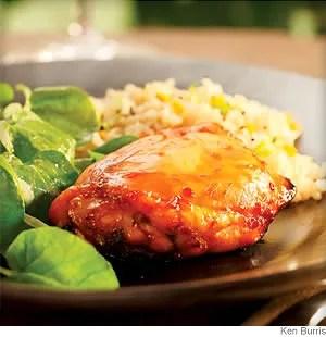 lime honey glazed chicken