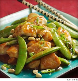 Sichuan Chicken With Peanuts