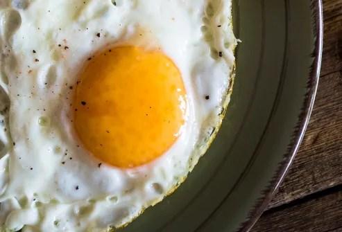 breakfast eggs on plate