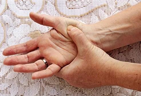 sore hands