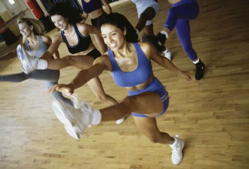 Women Exercising Their Gluteal Muscles