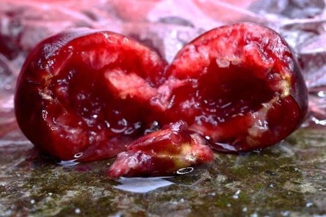 photo of cherry pit