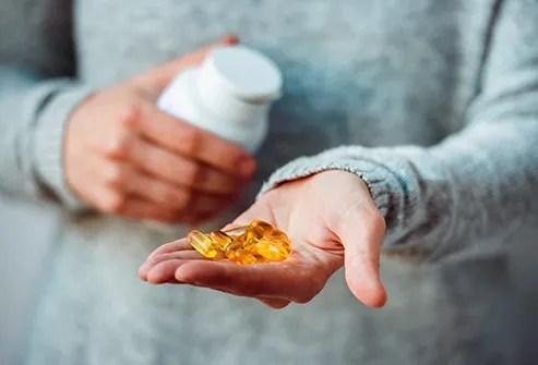 fish oil pills
