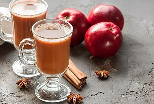 apple cider latte