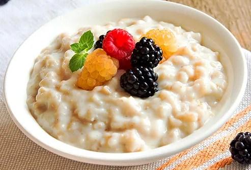 Fruit oatmeal