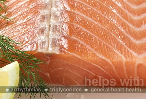 Salmon Fillet, Dill and Lemon Wedge