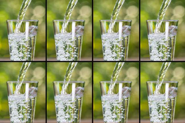 photo of glasses of water