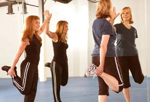 Quadriceps Stretch