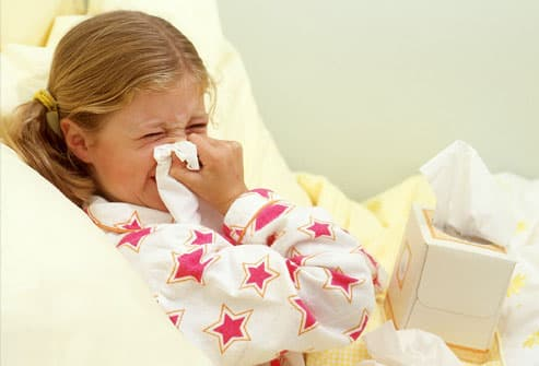 Cold & Flu Treatment Medication and Home Remedies for Children
