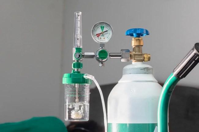 photo of oxygen tank