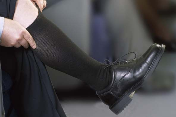photo of compression socks