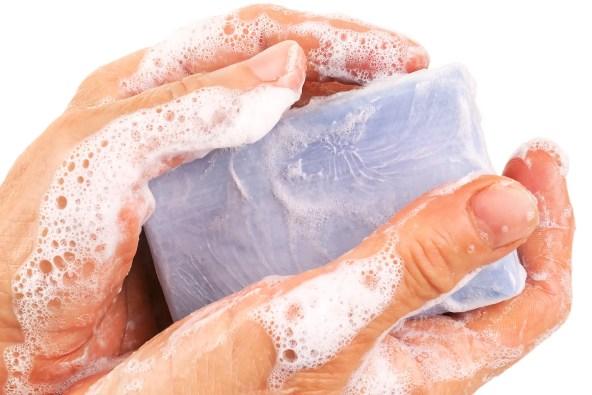 photo of bar soap