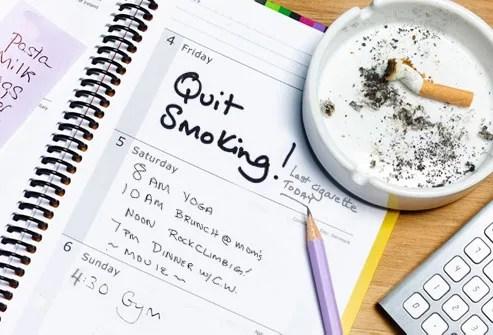 Quit Smoking Deadline Diary
