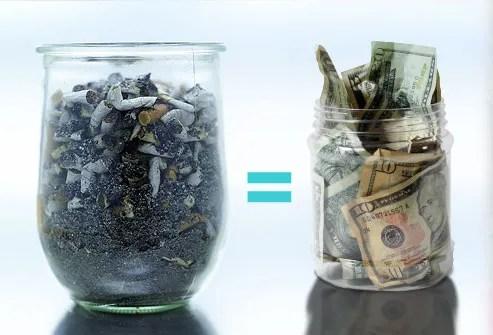 Jar of Ashes Versus A Jar of Money