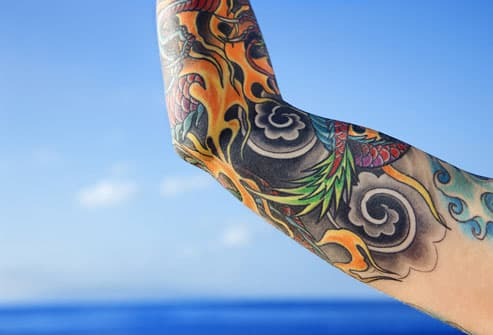 Tattoo On Woman's Arm