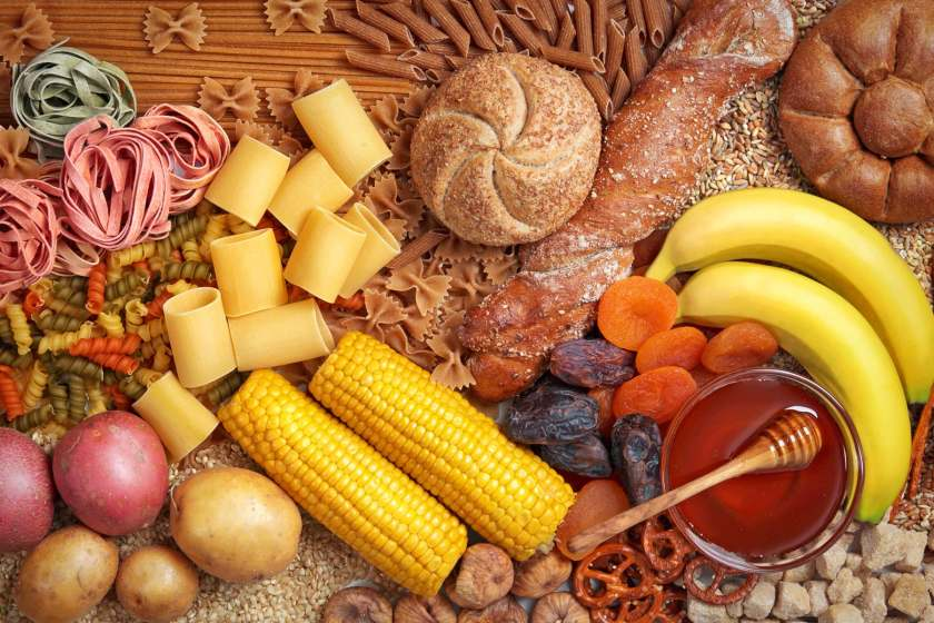 carbohydrate rich foods