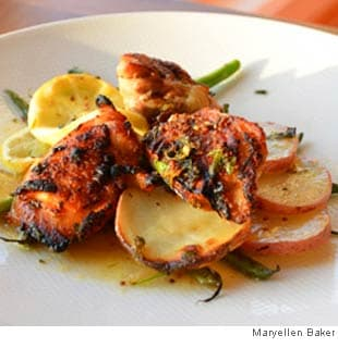Picture of Crispy Lemony Chicken Roasted