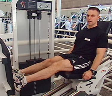 chair gym workout videos small upholstered swivel smarts lower body calf exercises watch webmd video