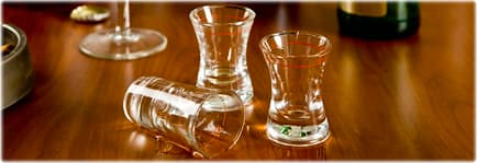 Image result for SHOT GLASSES ON TABLE