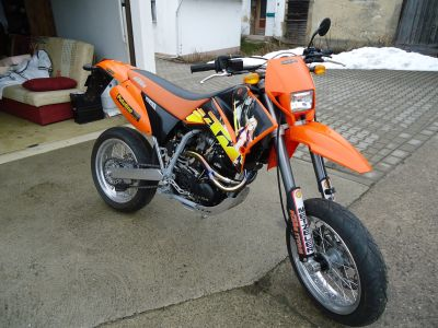 Ktm Lc4 620 Technische Daten  Motorrad Bild Idee