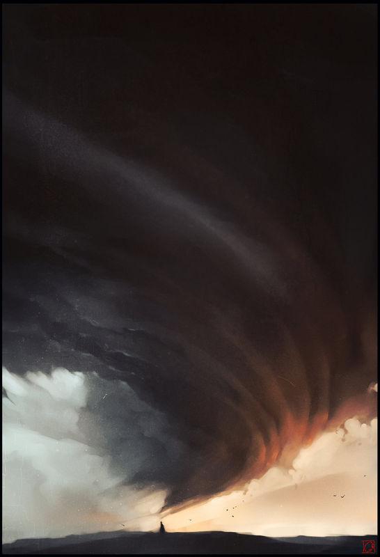 Storm Concept Art