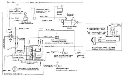 wiring diagram of motor control cat 5 wall jack associaciÒ d`amics dels microcotxes d`espanya - esquema lombardini