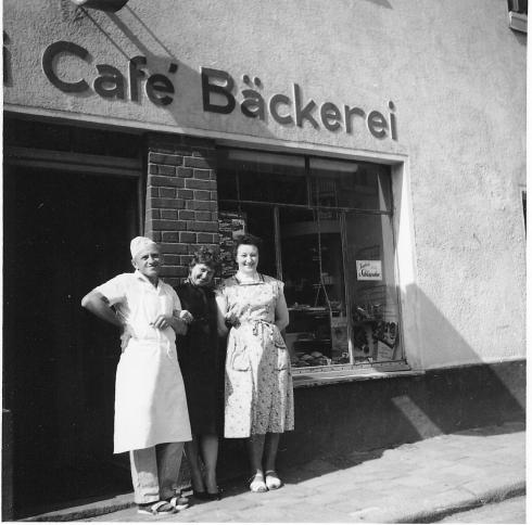 Bckerei  Caf  Enslein  Pleystein  Geschichte des