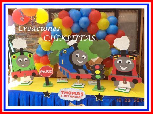 CREACIONES CHIKITITAS Deco Thomas El Tren