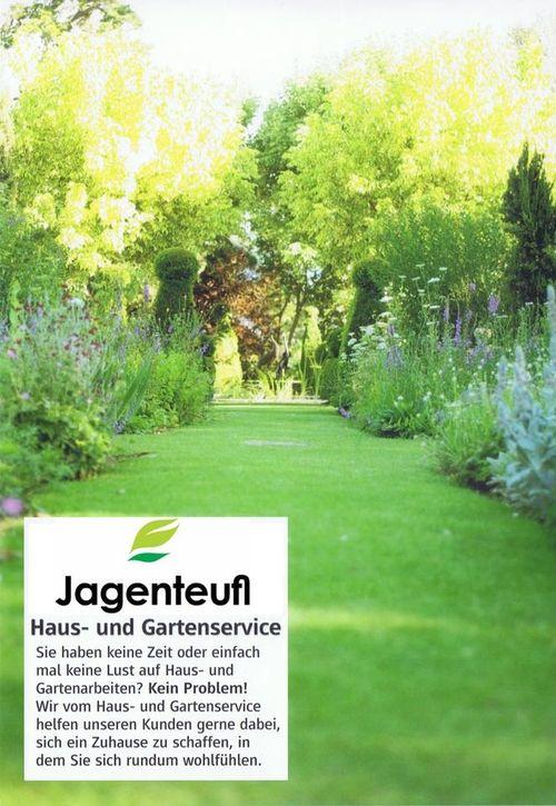 Haus und Gartenservice Jagenteufl  Flyer
