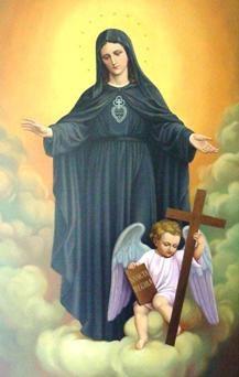 lasantisimavirgenmaria  Aparicin de la Virgen a San