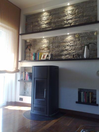 Creativit per la casa  Stufe caminetti a legna e pellet