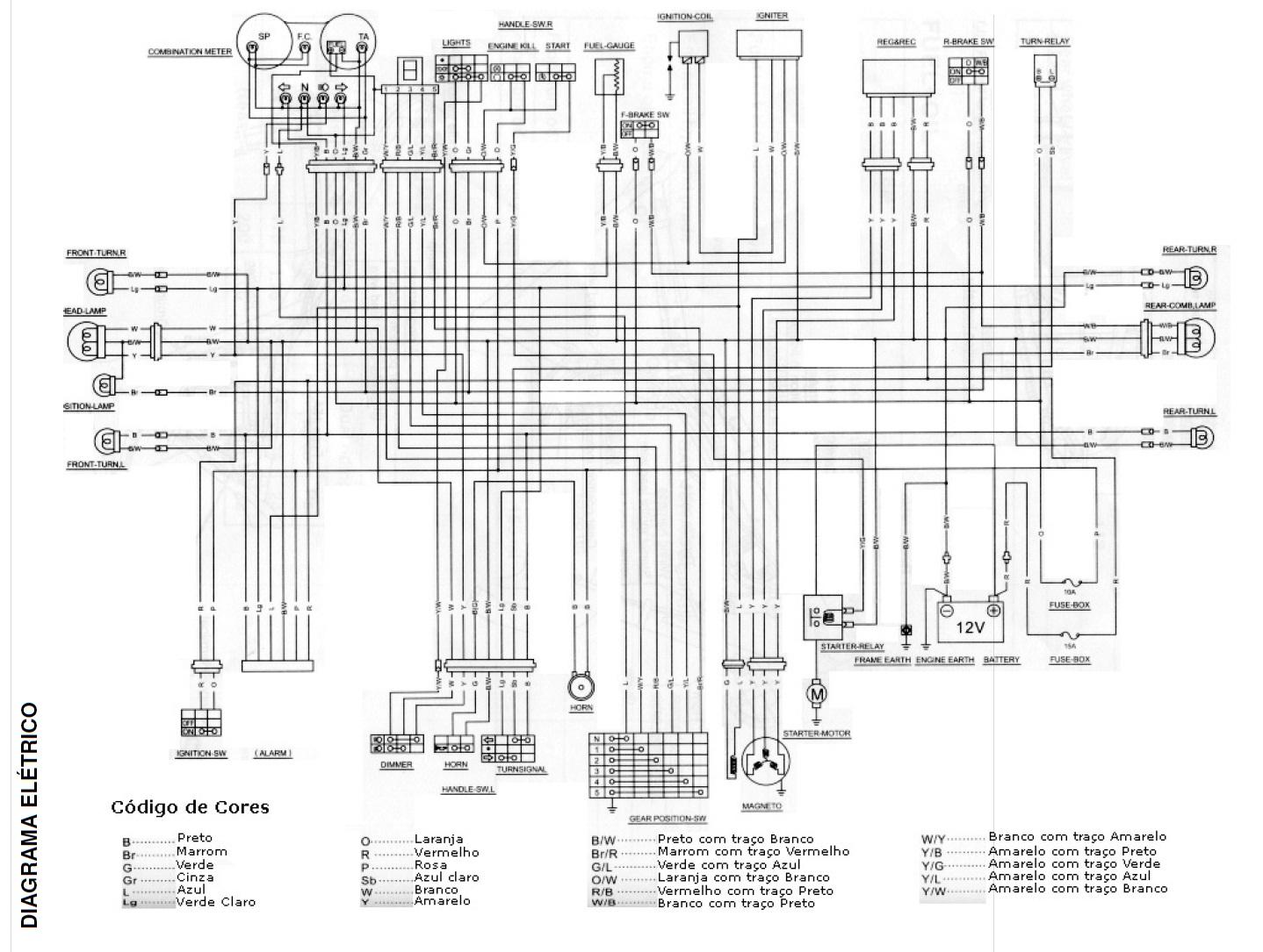 suzuki diagrama de cableado celect gratis