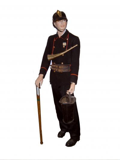 Feuerwehrhistorische Sammlung  Uniformen