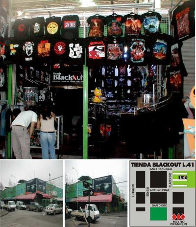 Tienda Blackout  Home
