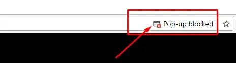 Блокировка всплывающих окон по умолчанию в Chrome