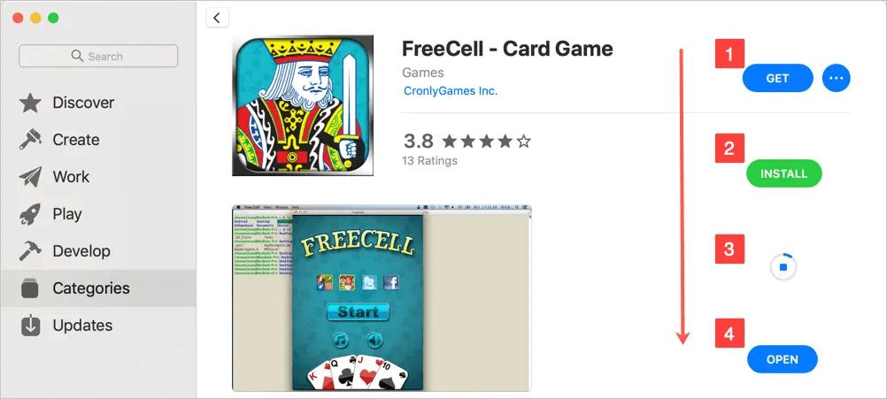 Установить приложение из Mac App Store